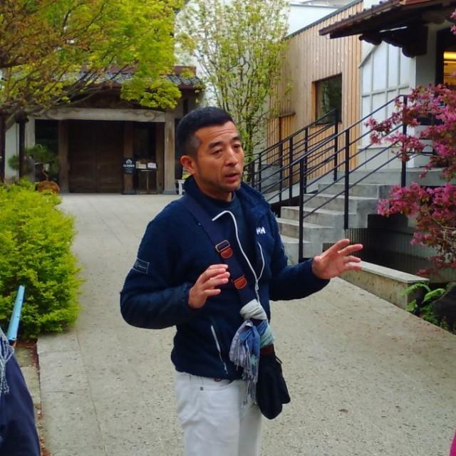 なんと本日は、特別に熊澤社長が案内して下さります