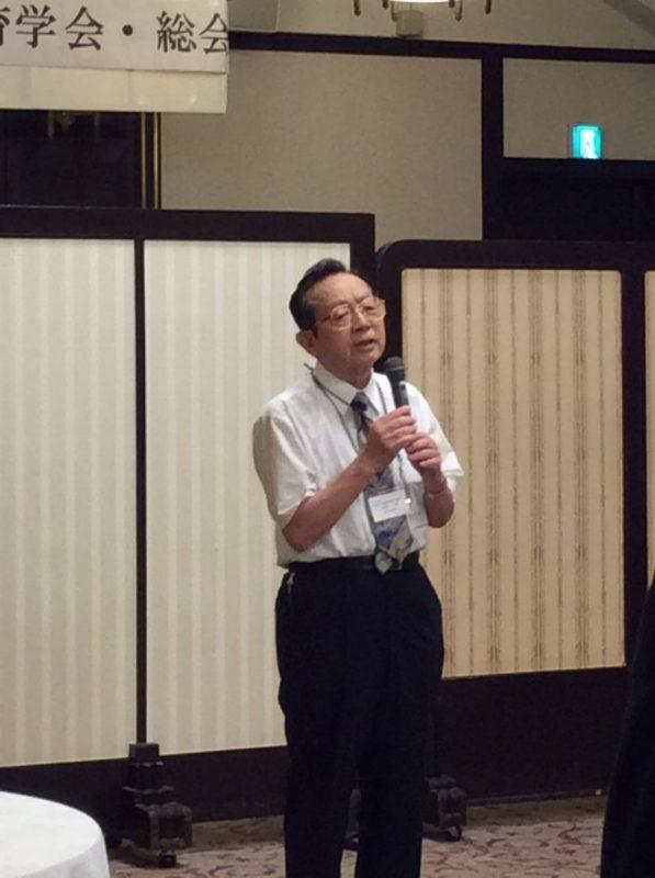 前会長の小野寺先生